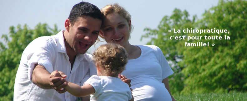 Famille et chiropratique